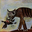 "Picasso's ""Cat Catching Bird"""