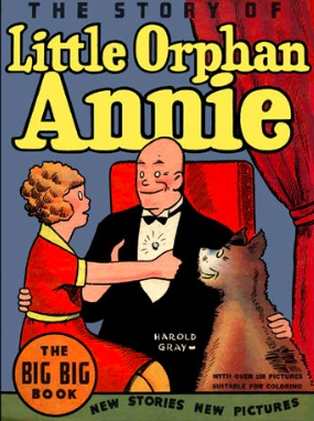 "This is the cover of my ""Annie"" book."