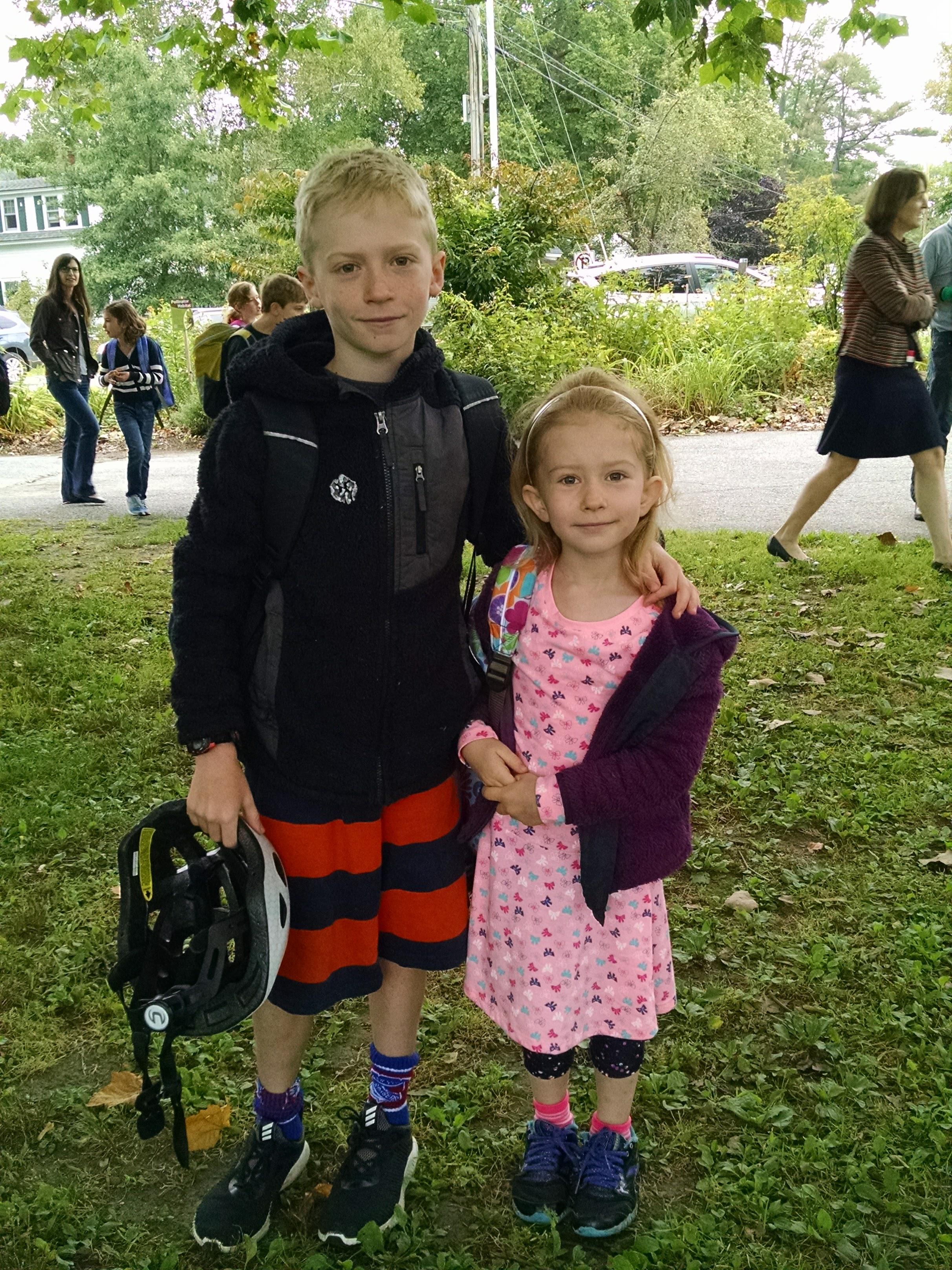 Gavin & Keira's 1st Day of School 2017