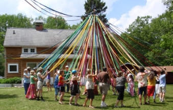 Ring around the May Pole