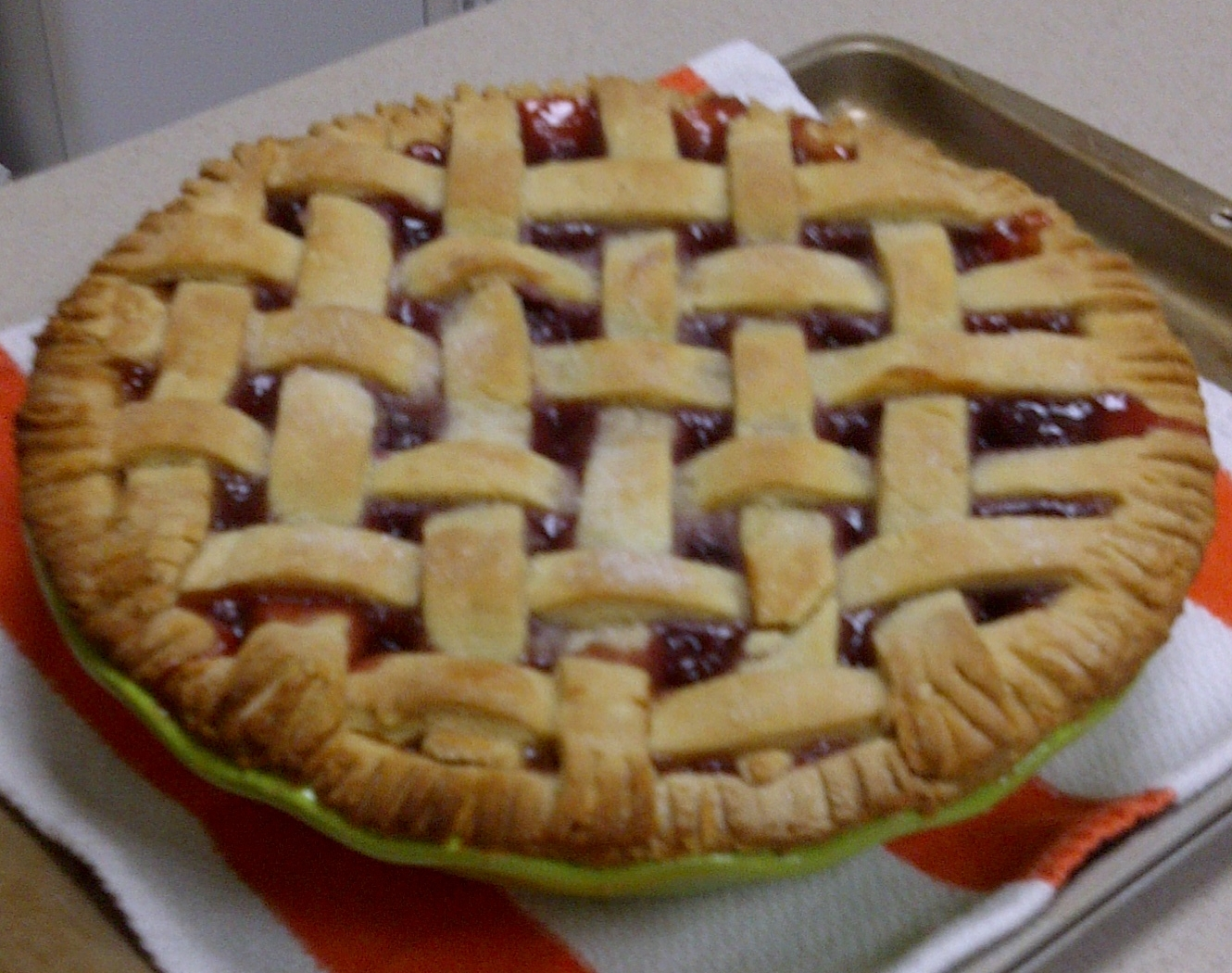 Rain, Rain, if you're gonna stay, I'll bake a cherry pie today!