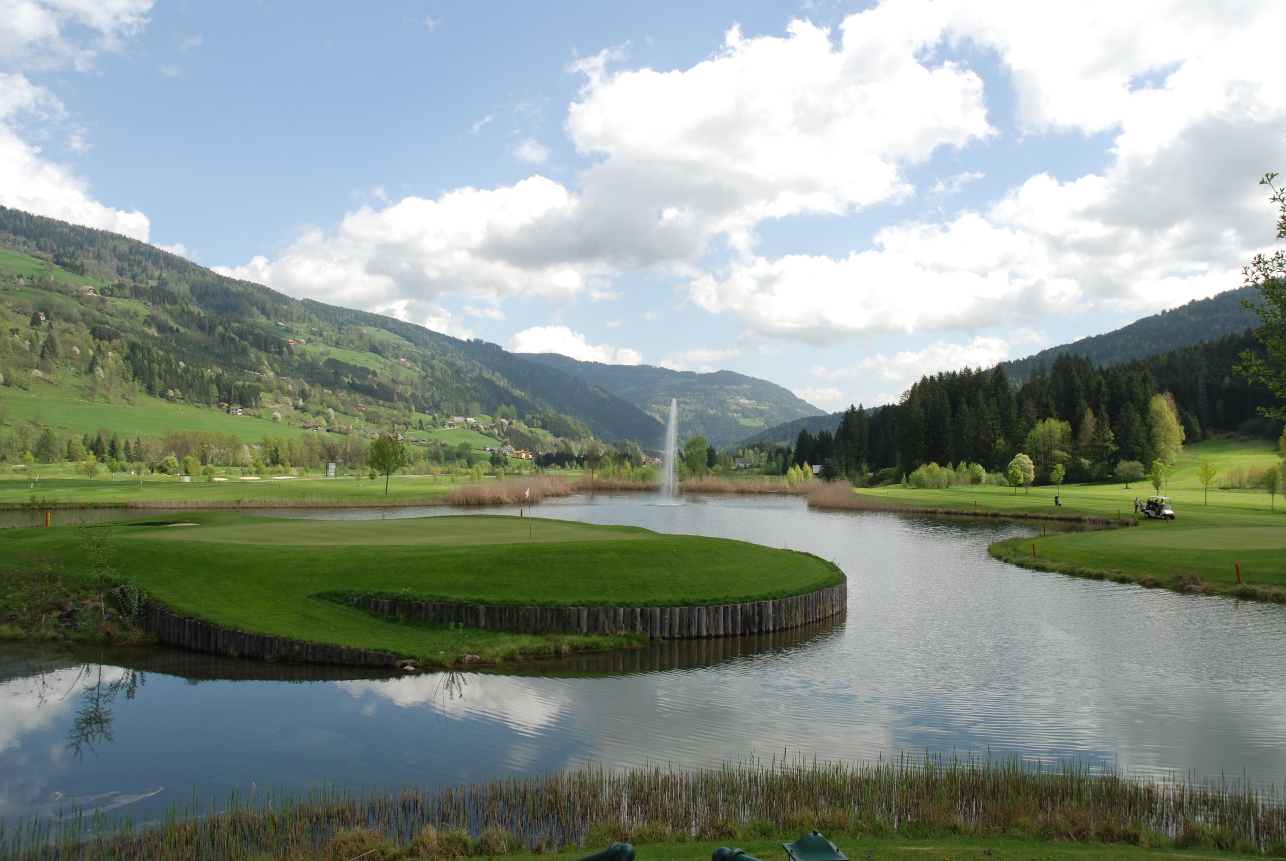 Golf course at St Lorenzen