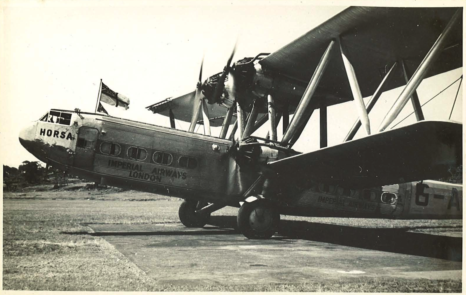Max flew for Imperial Airways from 1936-38
