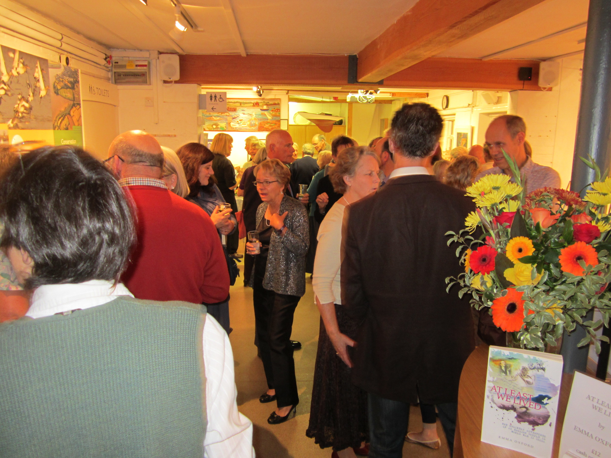 Many guests remember Max and Audrey fondly from their years on Monmouth St in Topsham.
