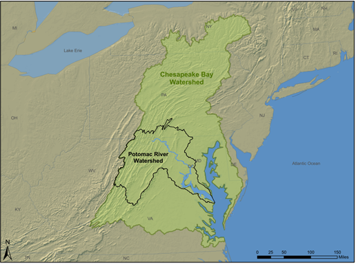 Chesapeake and Potomac Watersheds