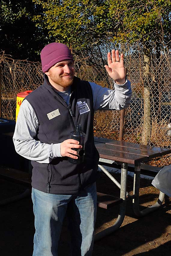 """""""Almost one hundred volunteers coming out on a winter weekend to restore Kenilworth Aquatic Gardens exemplifies the energy and excitement for national parks along the Anacostia."""" - Ed Stierli, NPCA Chesapeake Bay Field Representative"""