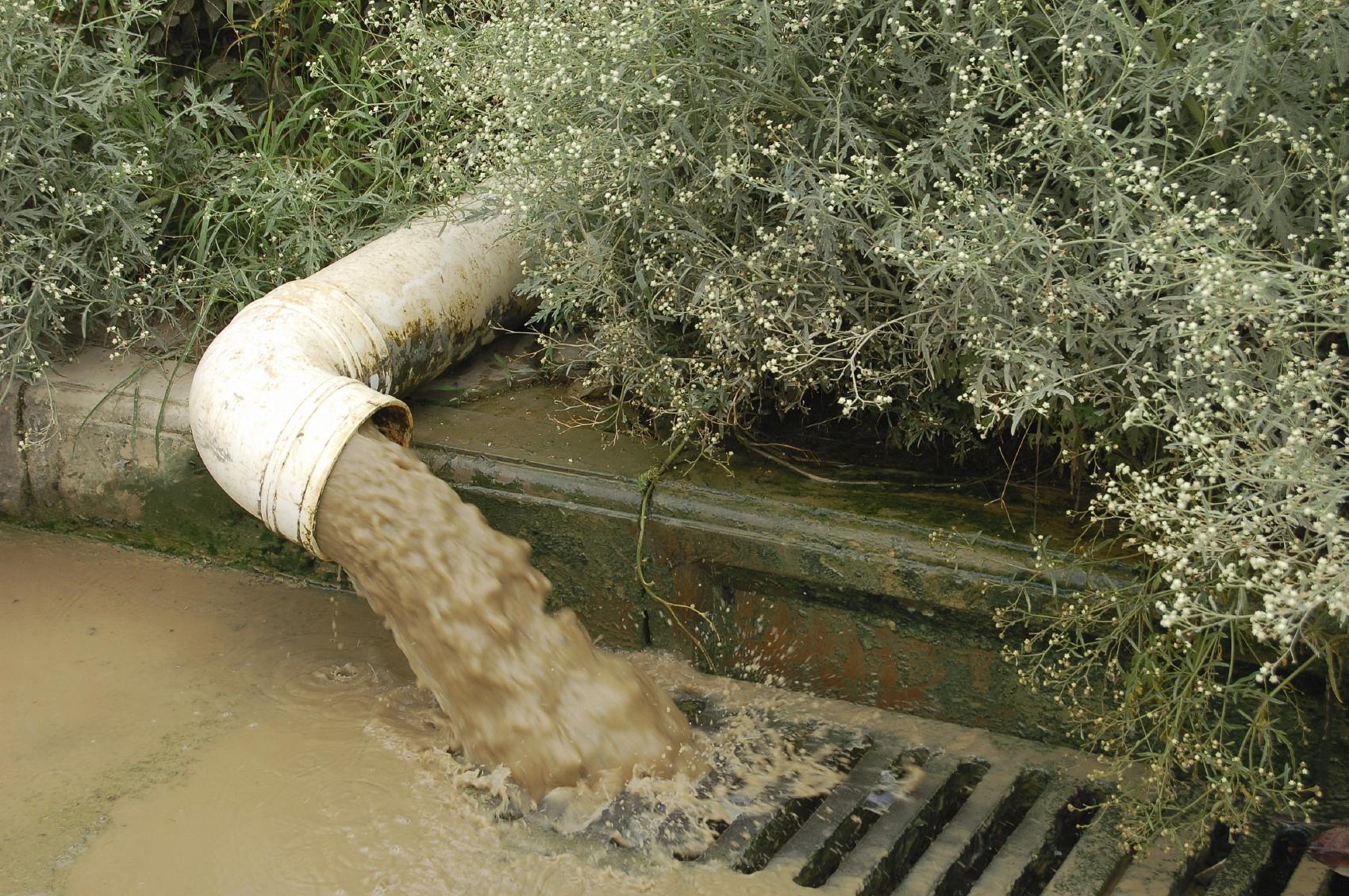 Runoff stormwater pollution