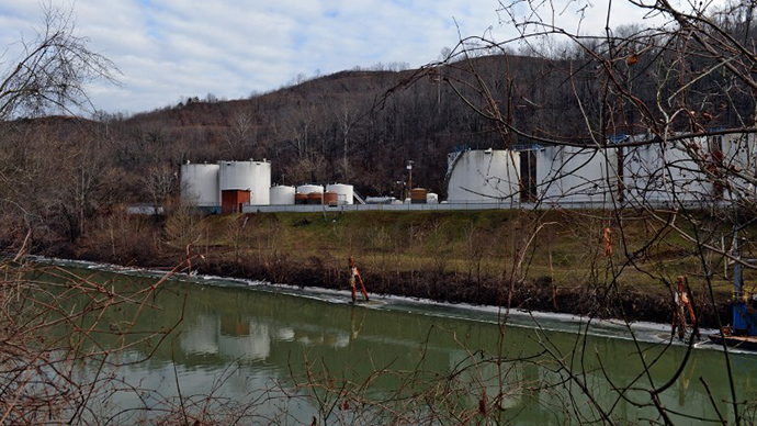 Freedom Industries in Charleston, WV, site of the 2014 chemical spill.