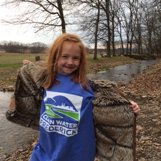 A Clean Water Frederick river cleanup volunteer from Frederick, MD.