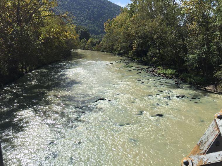 North Branch Potomac, September 24, 2015. Image property of  Cumberland Times-News .