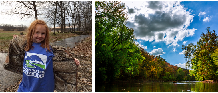 PHOTO OF THE MONOCACY RIVER on the Right BY AMIT SARDA