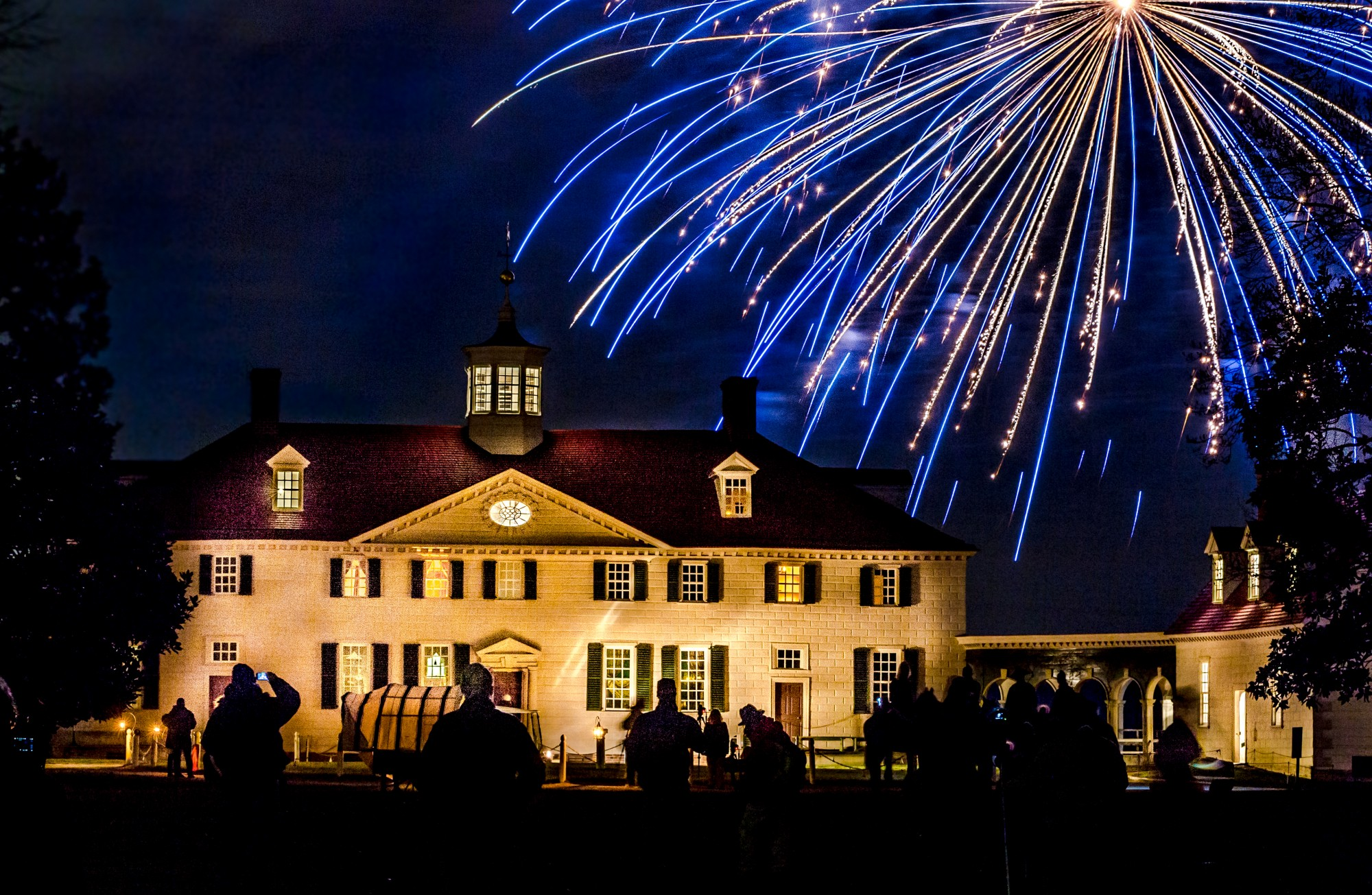 Mount Vernon Christmas Fireworks
