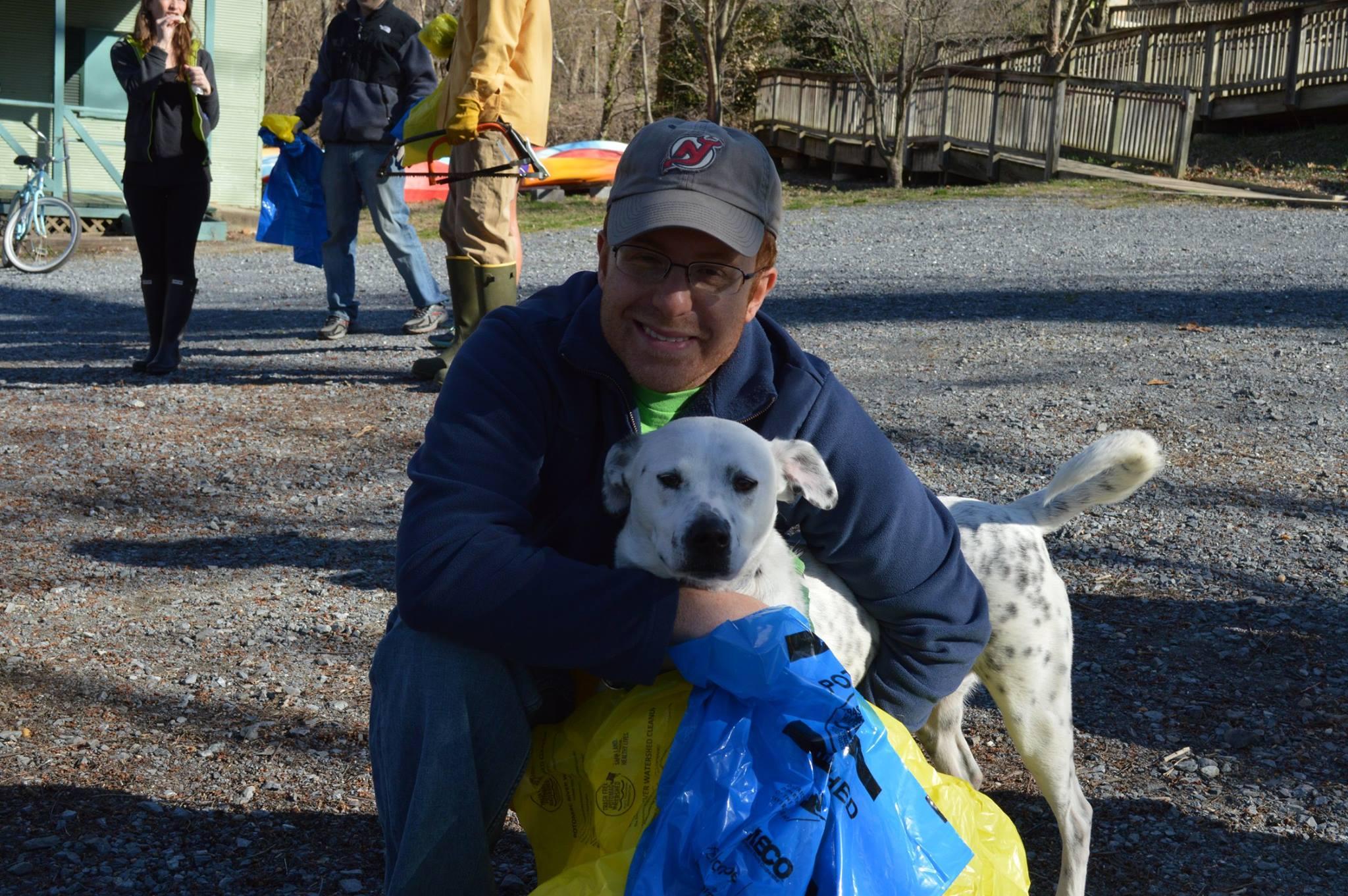 potomac river cleanup volunteer