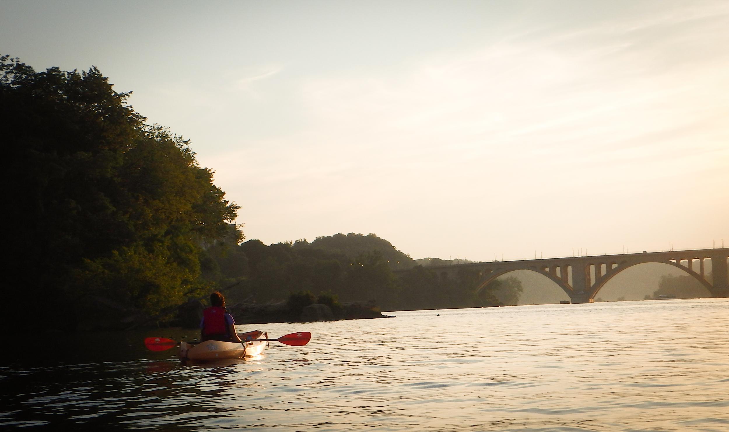 potomac river kayaking