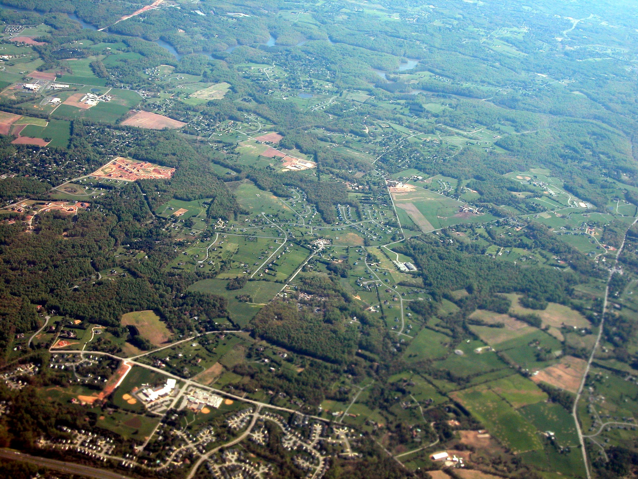 Photo of suburban maryland by David Wilson.