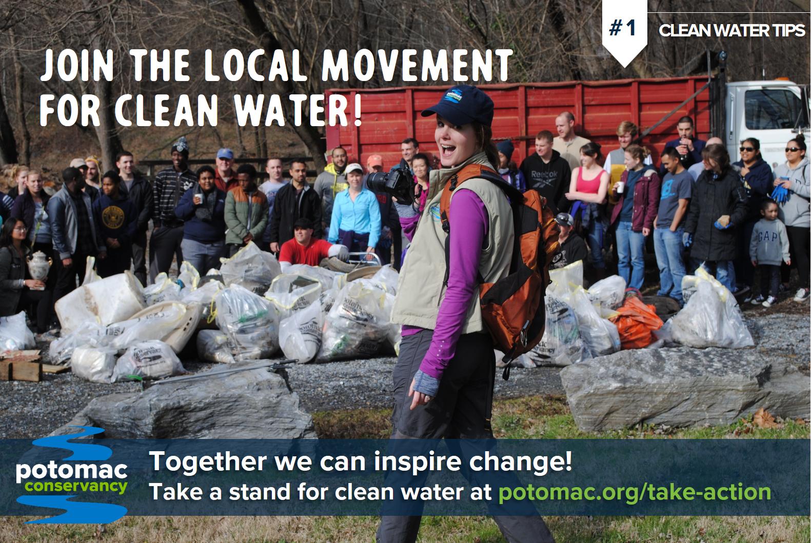 potomac river take action clean water