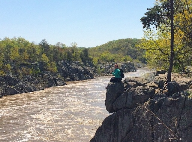 Sitting on a cliff in VA's Great Falls NP.jpg