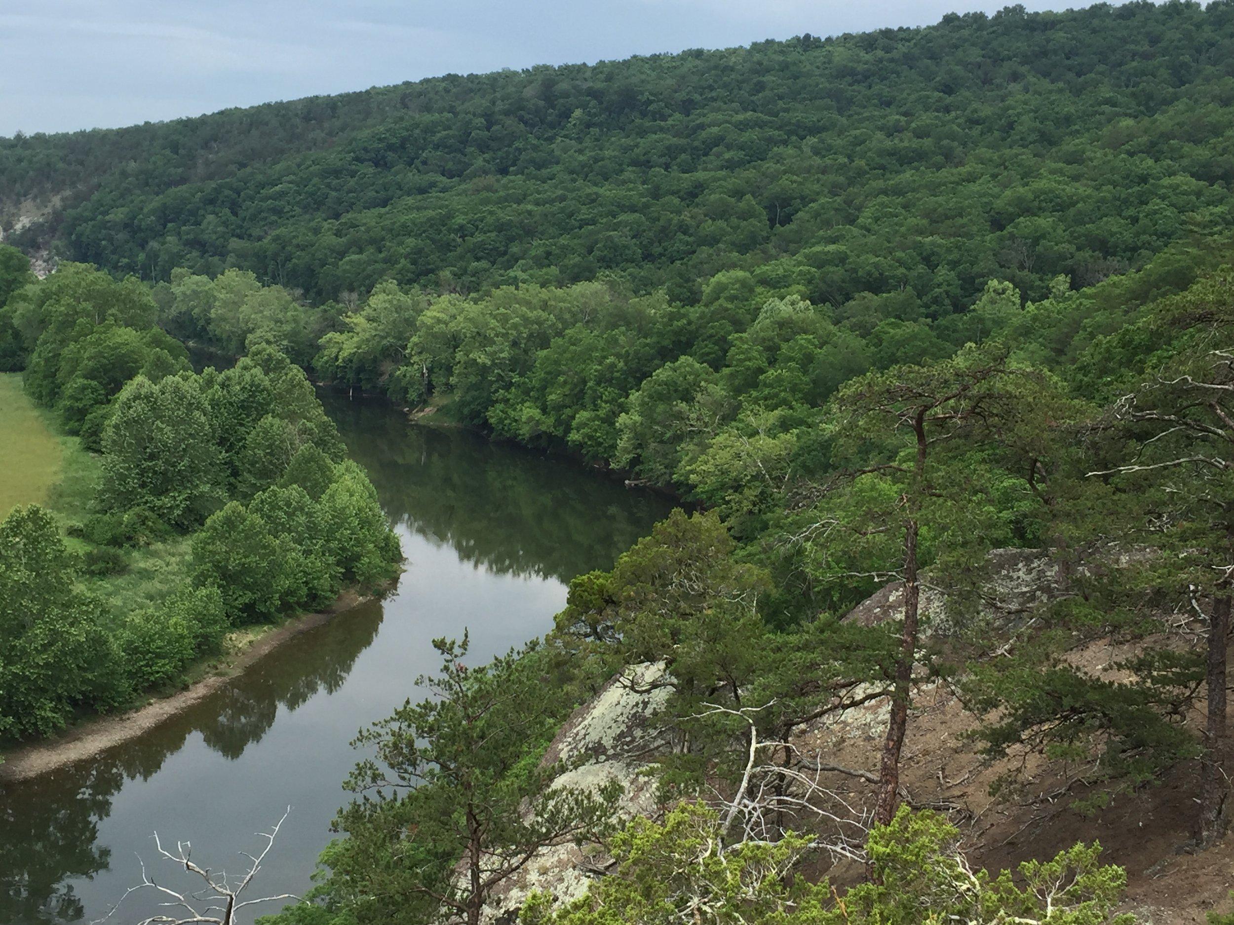 White Horse Mountain & Potomac River