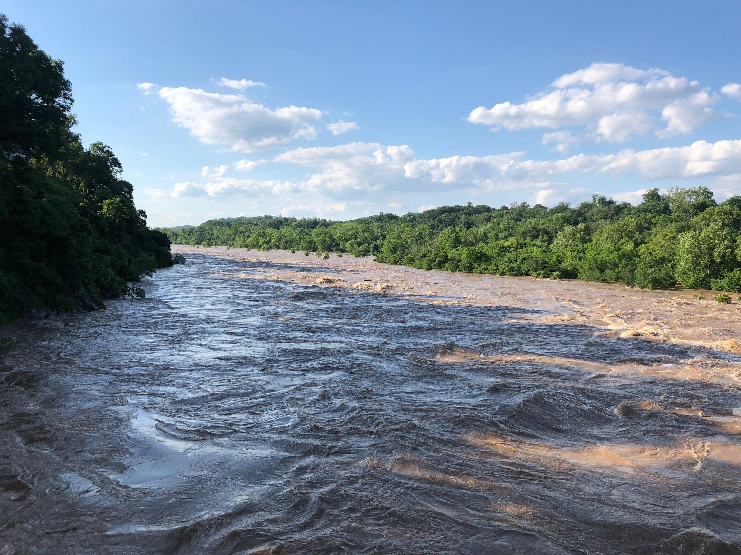 Upstream from Chain Bridge, June 4, 2018 | Alain, McLean, VA