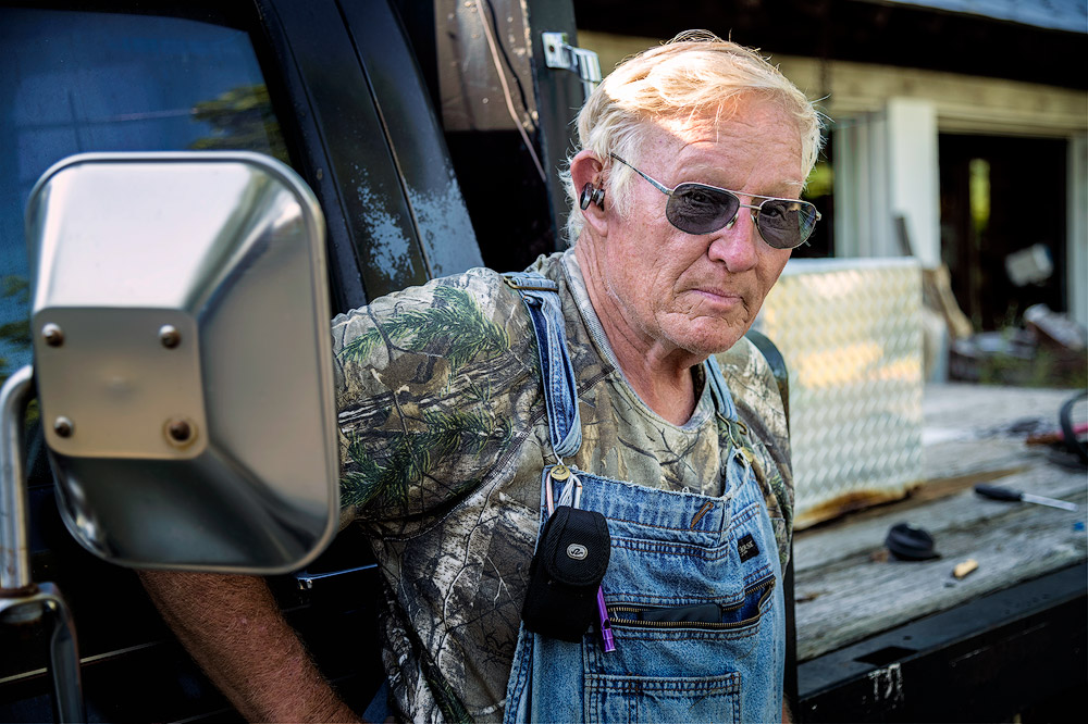 Carl hovermale, owner of bear garden. (c) william macfarland, www.macfarlandphoto.net