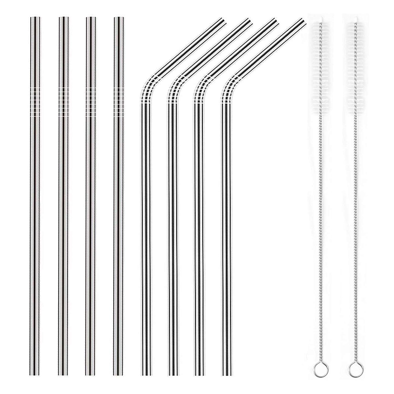 A pack of metal straws: $8.99 from  amazon