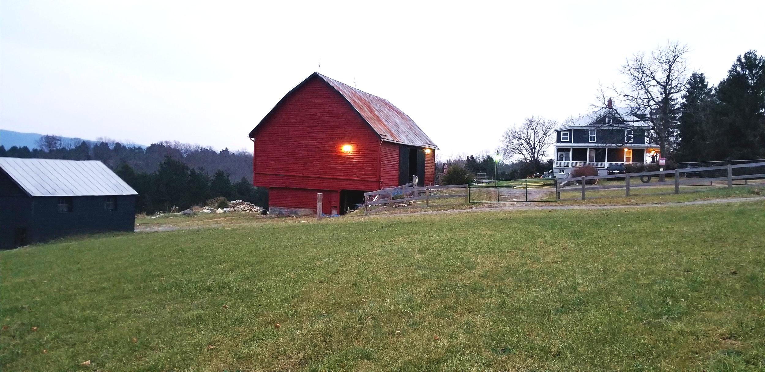 The Bullard Family Property Near StrasBurg, VA.