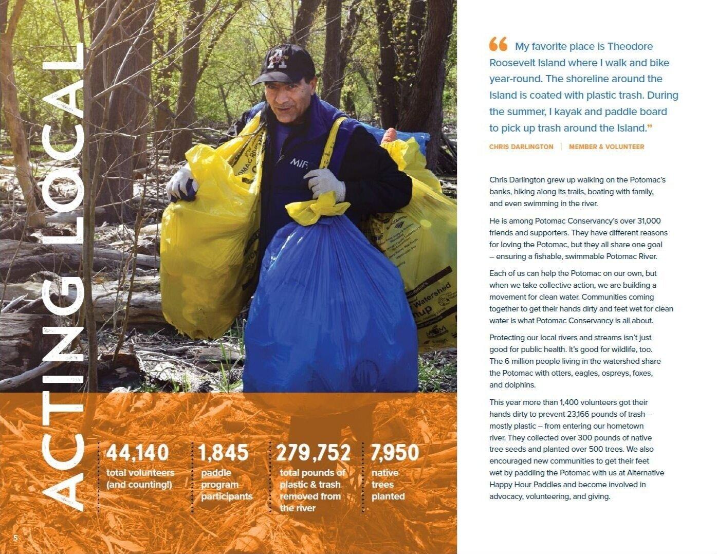 Potomac Conservancy Potomac River Annual Report