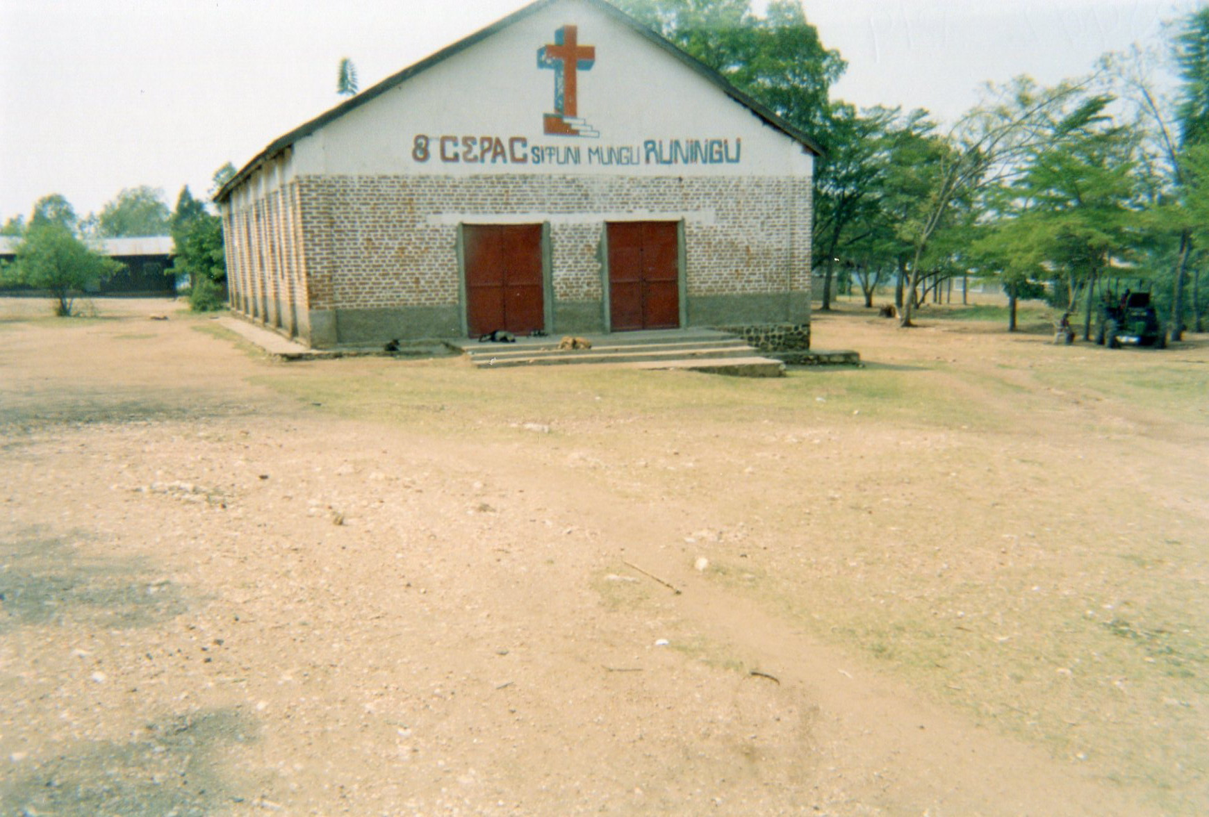 This photo shows the church where I was baptised and where I discovered God as my Saviour after leaving the armed groups.