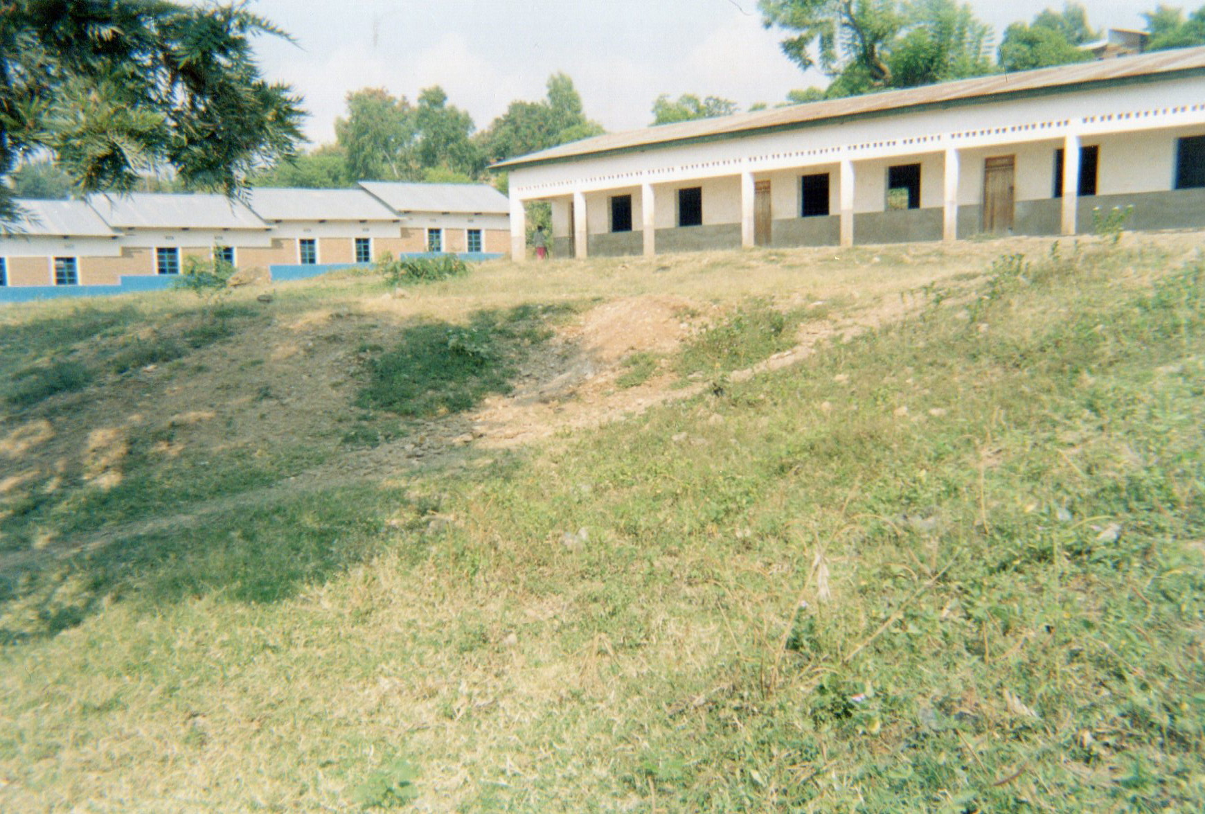 This photo shows the school where my daughter studied before she re-joined the armed group. After my daughter left the armed group, she did not go back to school because she was older and also we didn't have enough money to pay the school fees and other necessities for her re-entry into education.