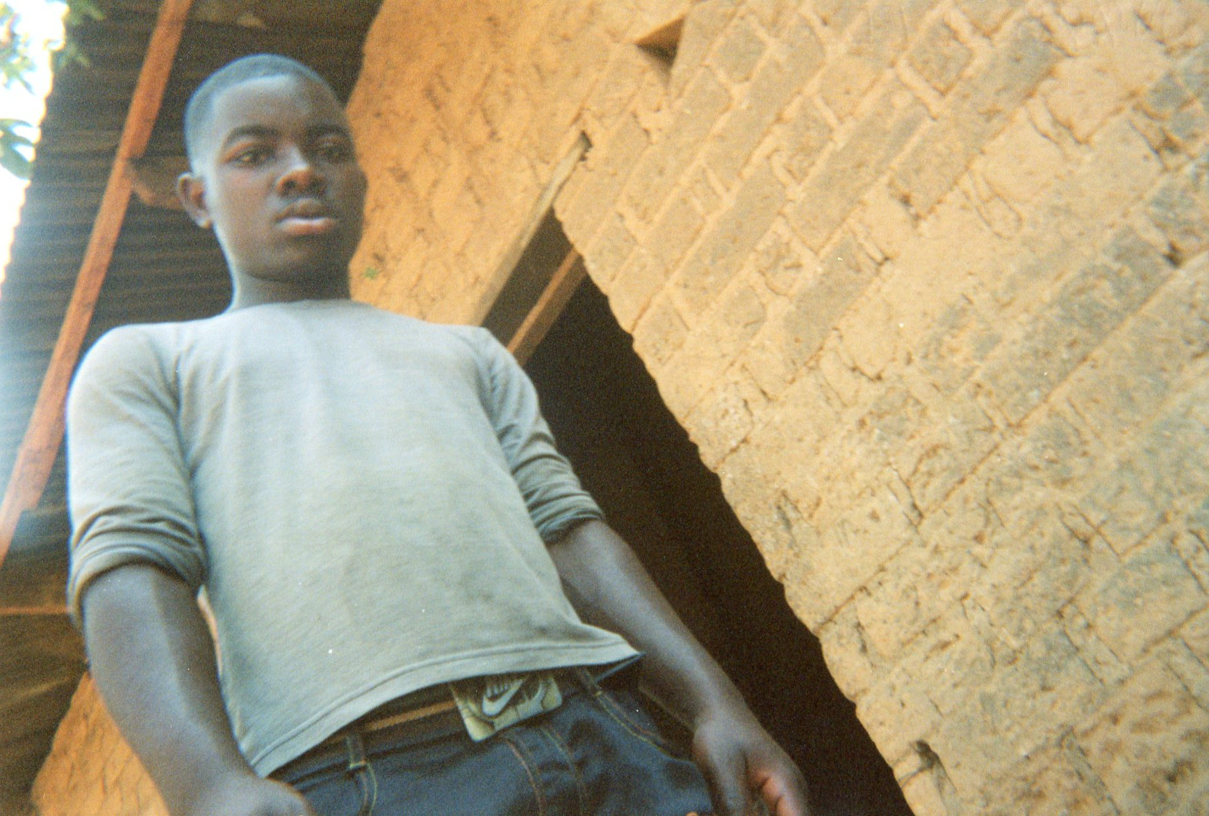 This boy ex-child soldier helped me a lot during this sad period of my life while I was in the armed groups.