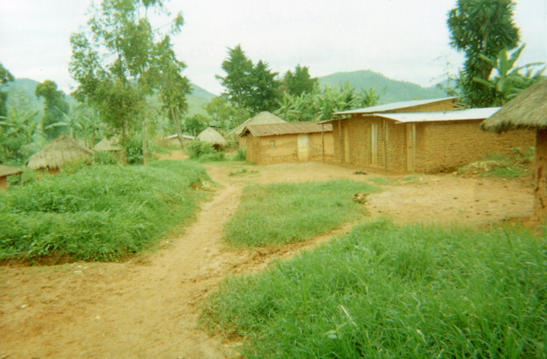 Reconstruction: People are trying to rehabilitate the village.