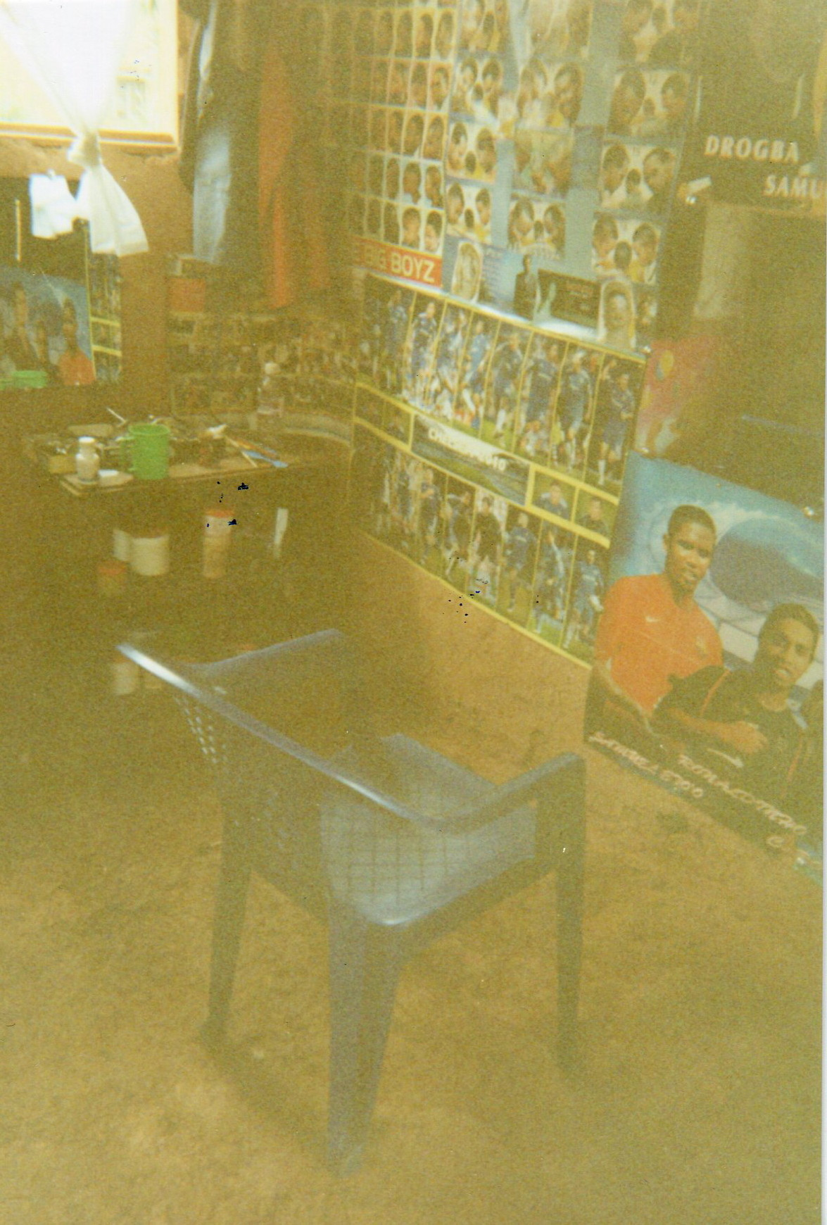 Barbershop for income generation of the EAFGA.