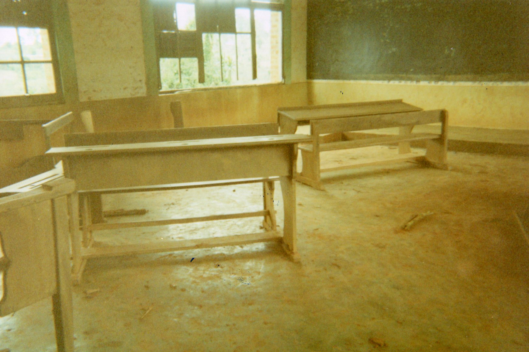 Rehabilitate the school and equip the classrooms.