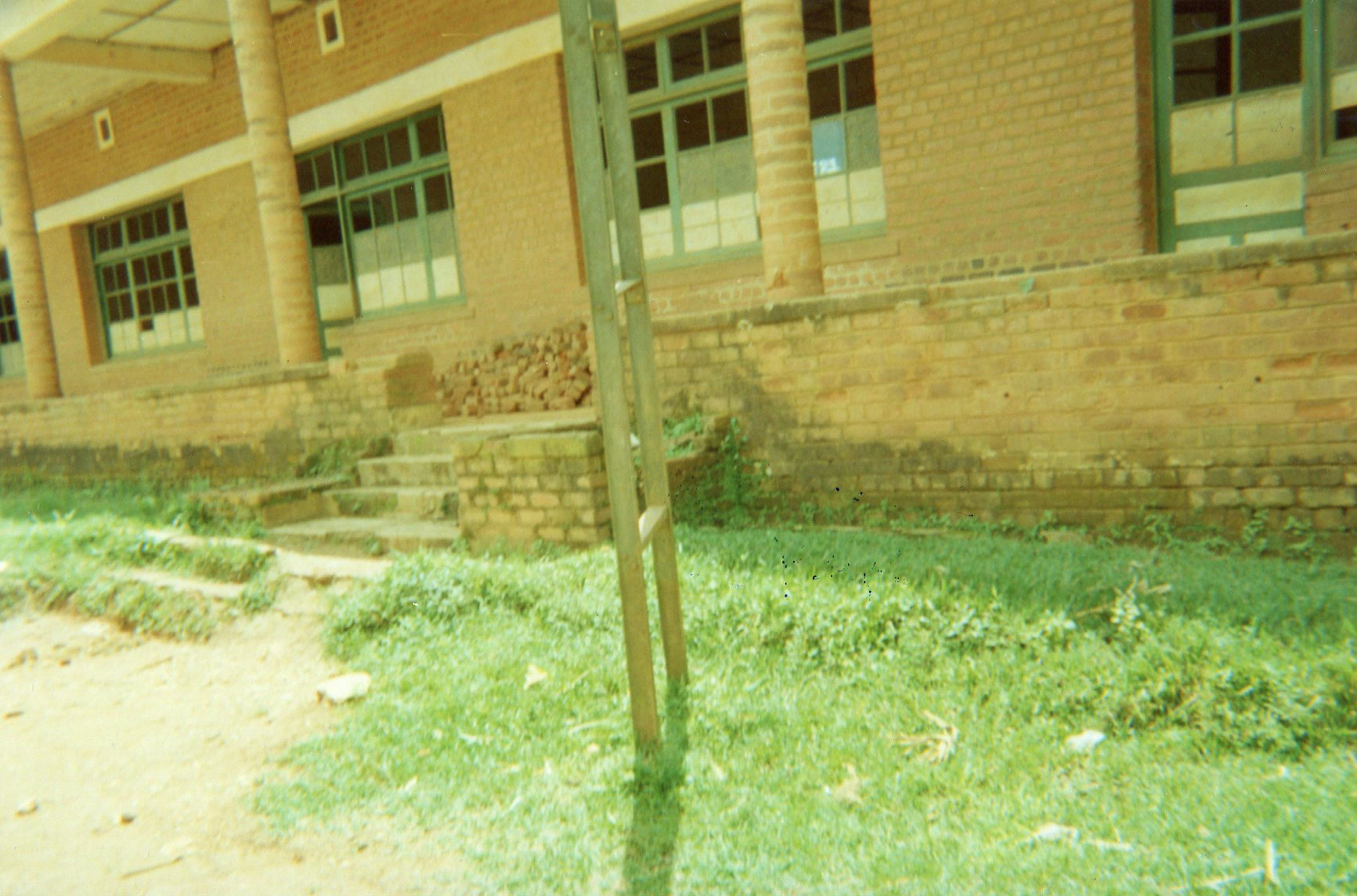Schools were destroyed and therefore need to be rehabilitated.