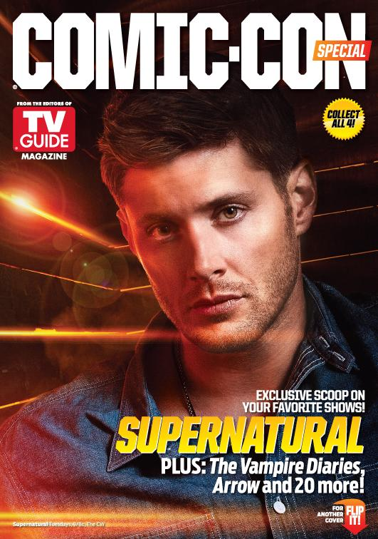 Photo of Jensen Ackles for TV Guide. Jensen is happily married. Click the image for TV Guide's website.