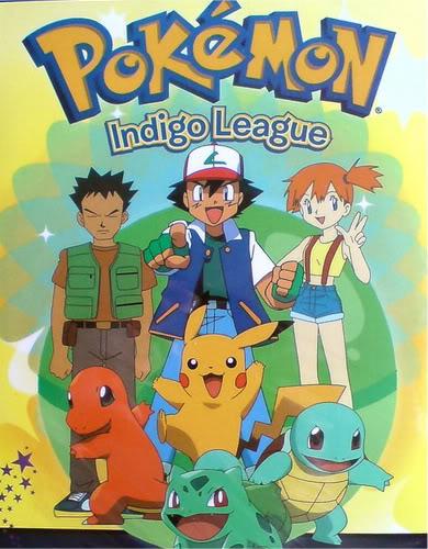 Official Pokemon season one cover.