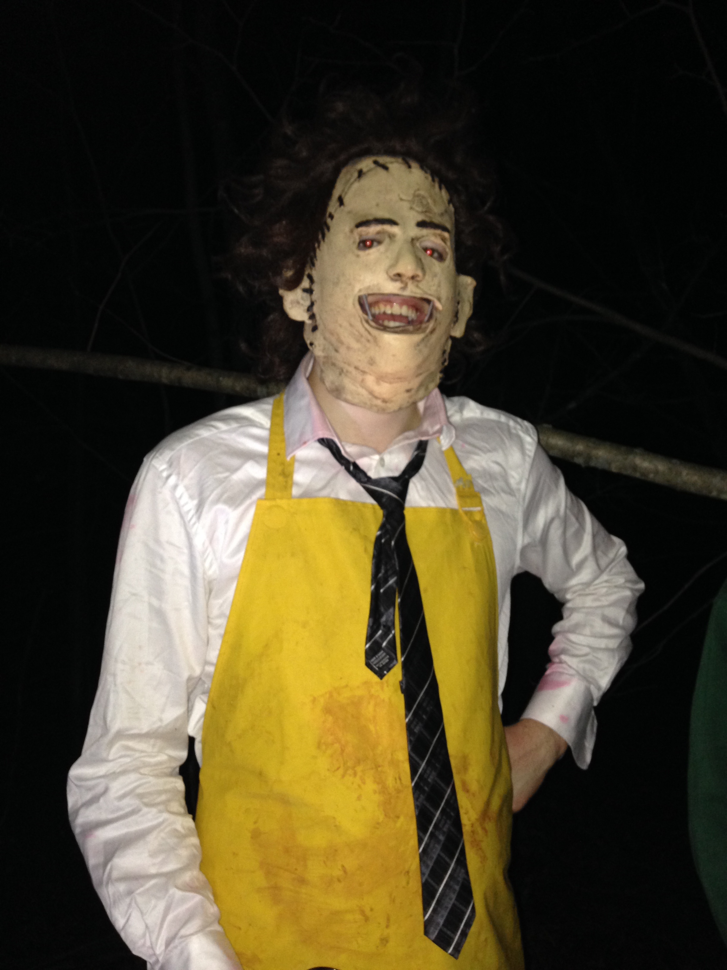 Graeme Balfour as Leatherface