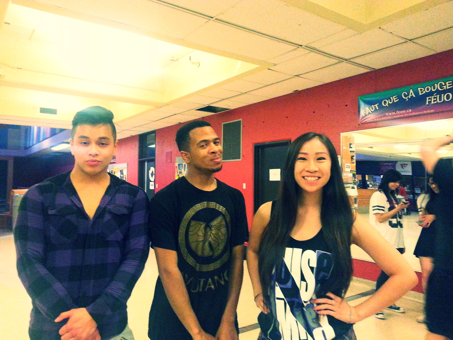 Albert, Jon, and Linh (from the left) are the founders and directors of PNL. Yes, they're as cool as they look.