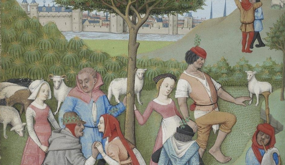 Hours of Charles of Angoulême,  Folio 50,  France (c. 1475-1500)