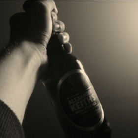 To alcohol, the cause of (and solution to) all of life's problems!!!
