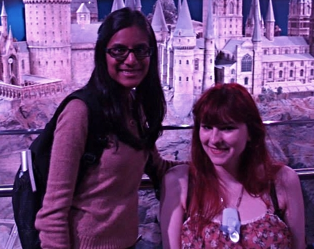 Heather P. and I at the Studio Tour.