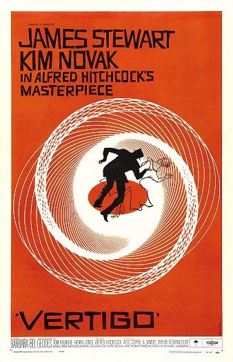 POSTER FOR   VERTIGO  (1958)IMAGE SOURCE: COMMONS.WIKIMEDIA.ORG