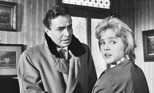 James Mason and Sue Lyon in Lolita. Image Source:http://www.movieactors.com/photos-stars/james-mason-lolita-50.jpg