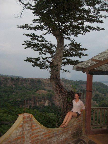 Me with a tree in chalatenango, el salvador