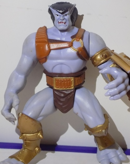 Gargoyle action figure  also found in THE basement. (PICTURE by Myryam Ladouceur)