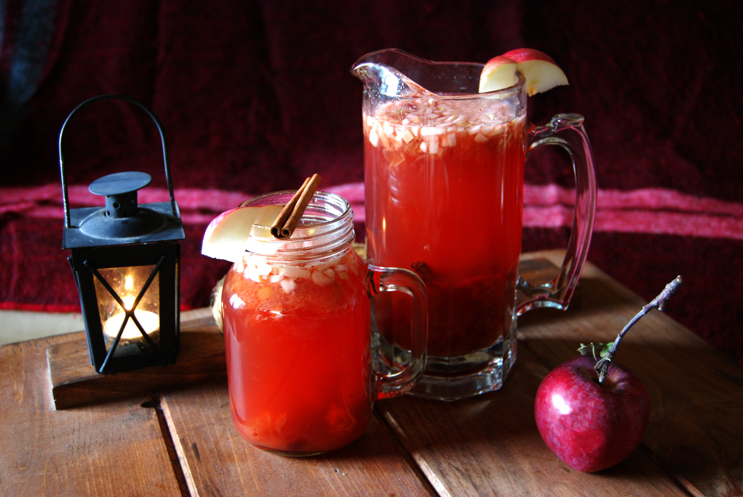The Hot Harvest Punch.