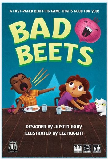 Game designer Justin Gary feels me. He created a card game base around getting rid of your beets and passing them off to others so that you can eat ice cream. Don't even get me started on the abomination of beet ice cream.