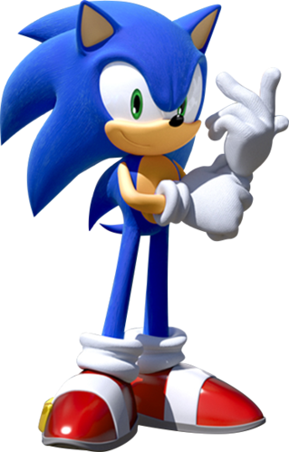 …VERSUS SONIC'S DESIGN AS A GAME CHARACTER