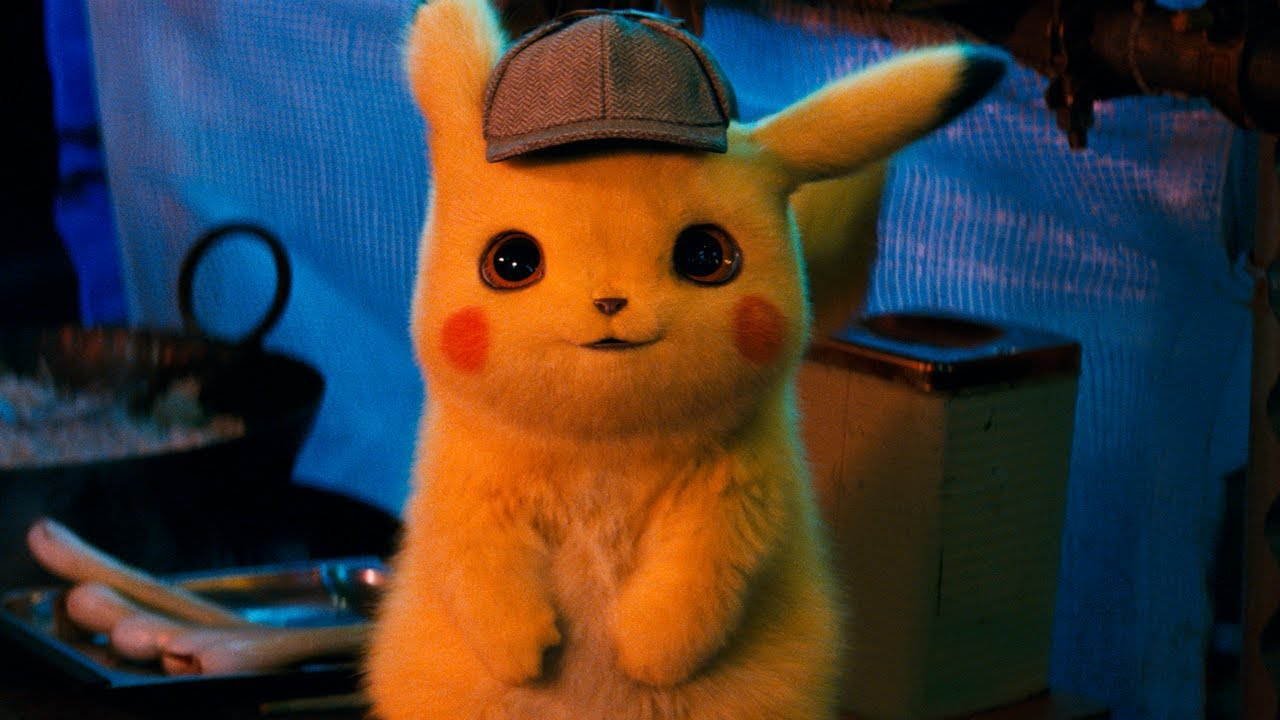 Detective Pikachu's Live-Action Design (as appearing in Detective pikachu, courtesy of warner bros Pictures)