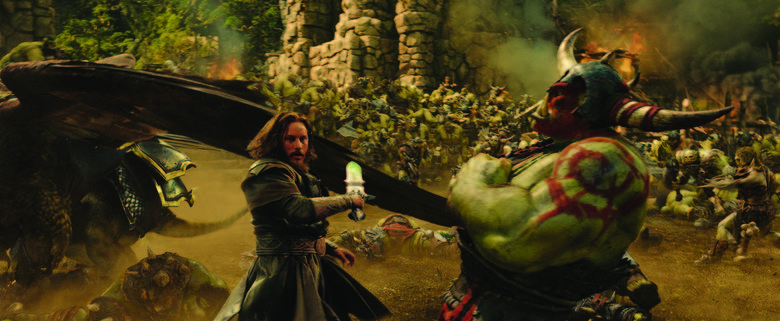 HUmans fight orcs in warcraft; And Neither Side is Truly in the wrong.